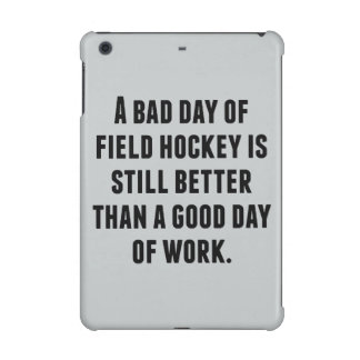 A Bad Day Of Field Hockey iPad Mini Retina Cover