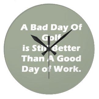 A Bad Day Of Golf Clocks