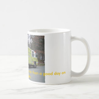 A bad day on The Squad, is better than... Coffee Mug
