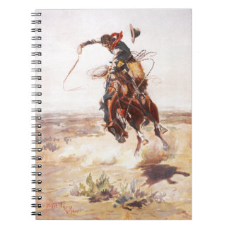 A Bad Hoss Charles Russell Fine Art Note Books