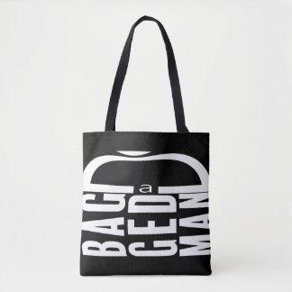 a Bagged Man Tote Bag