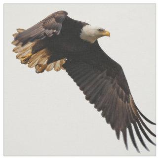 A Bald Eagle Takes to the Sky Fabric