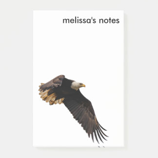 A Bald Eagle Takes to the Sky Post-it Notes