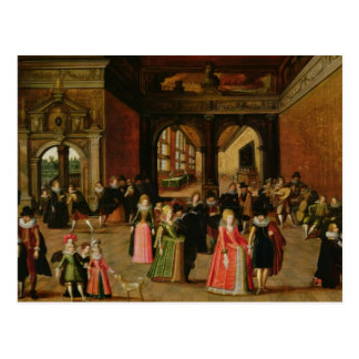 A Ball During the Reign of Henri IV Postcard