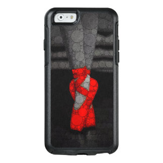 A ballerina's legs in red ballet pointe shoes OtterBox iPhone 6/6s case