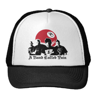 a band called pain trucker hat