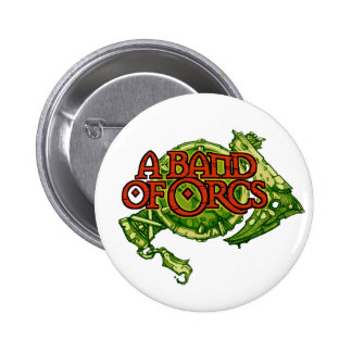 A Band of Orcs Green Shield Button