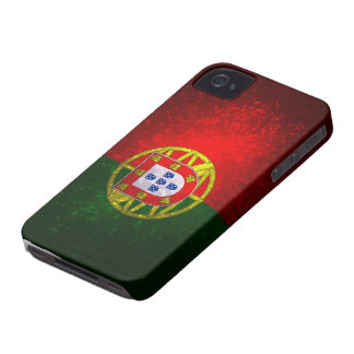 A bandeira de Portugal iPhone 4 Cases
