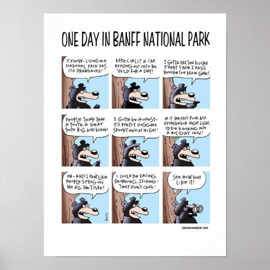 A Banff Day - Poster