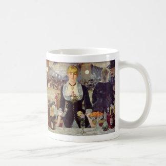 A Bar at the Folies-Bergère - Edouard Manet Coffee Mug