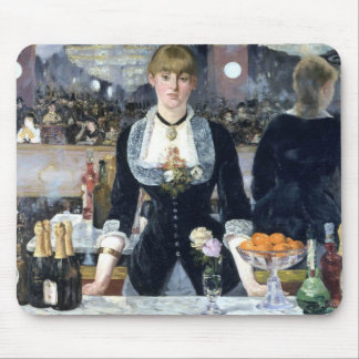 A Bar At The Folies Bergere Mouse Pad