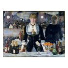 A Bar At The Folies Bergere Poster