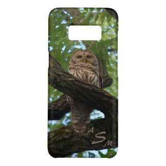 A Barred Owl on a Branch in the Woods Case-Mate Samsung Galaxy S8 Case
