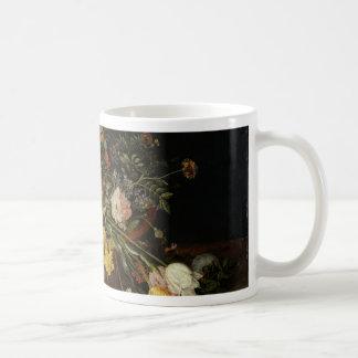 A Basket of Flowers - Jan Brueghel the Younger Coffee Mug