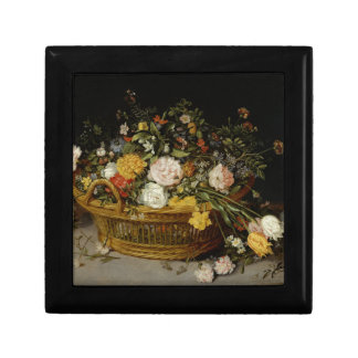 A Basket of Flowers - Jan Brueghel the Younger Gift Box