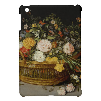 A Basket of Flowers - Jan Brueghel the Younger iPad Mini Covers
