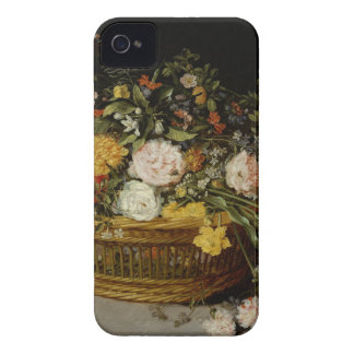 A Basket of Flowers - Jan Brueghel the Younger iPhone 4 Covers