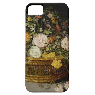 A Basket of Flowers - Jan Brueghel the Younger iPhone 5 Case