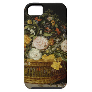 A Basket of Flowers - Jan Brueghel the Younger iPhone 5 Cases