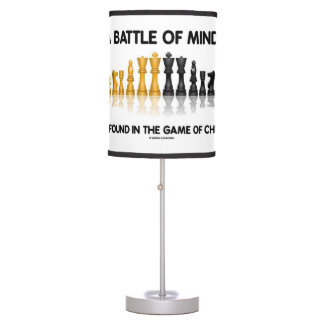 A Battle Of Minds Is Found In The Game Of Chess Table Lamps