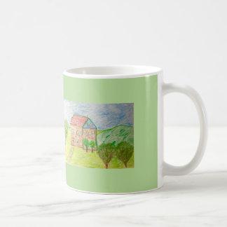 A Bavarian Country House Coffee Mug