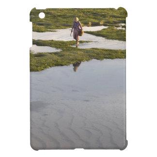 A beach scene of a villager taken in Bali island Case For The iPad Mini