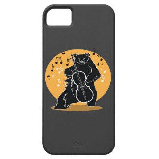 A bear and Cello iPhone 5 Case