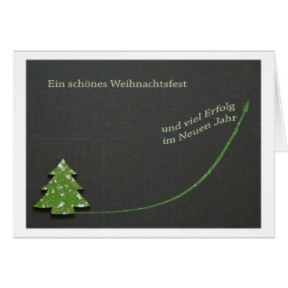 A beautiful Christmas and much success Cards