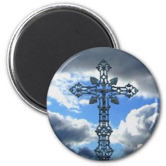 A beautiful cross magnet