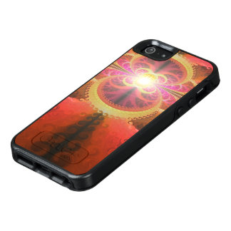 A Beautiful Fractal Burst of Liquid Sunset Colors OtterBox iPhone 5/5s/SE Case