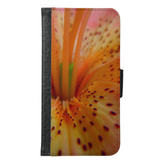 A Beautiful Lily in Pink Samsung Galaxy S6 Wallet Case