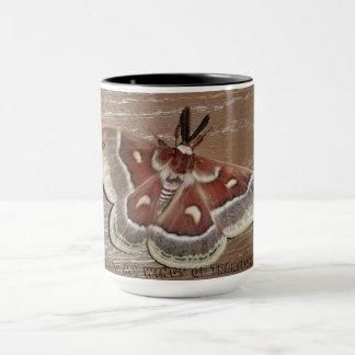 a beautiful moth! mug