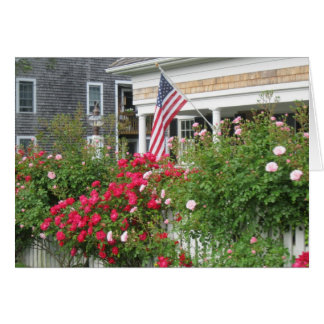 """A Beautiful Nantucket Cottage"" Card"