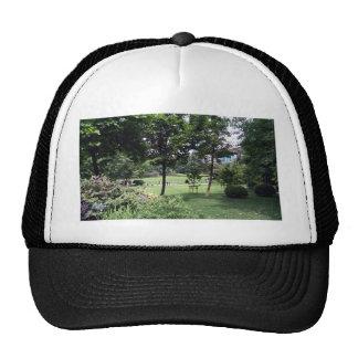 A beautiful park view trucker hat