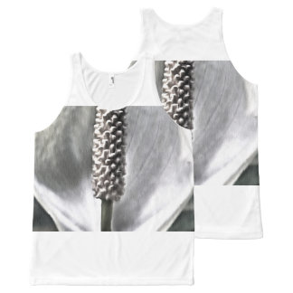 A beautiful Peace Lily All-Over-Print Tank Top