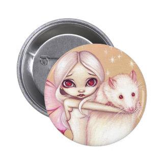 """A Beautiful Rat"" Button"