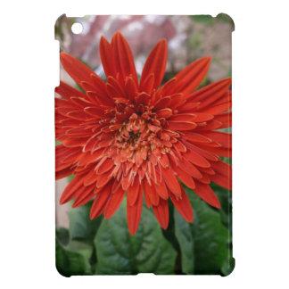 A beautiful red flower iPad mini case