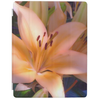 A - Beautiful Shaded Orange Lily iPad Smart Cover