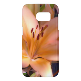 A - Beautiful Shaded Orange Lily Samsung Galaxy S7 Case