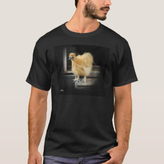 a beautiful Silkie Bantam Chicken picture. T-Shirt