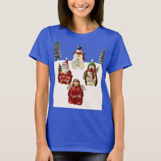 A Beautiful Snowy Christmas Day. T-Shirt
