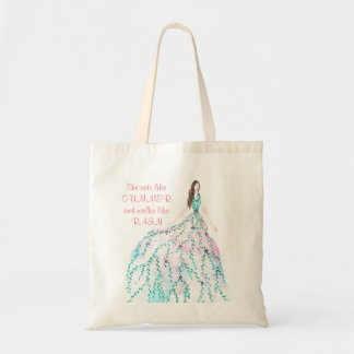A beautiful summer tote bag for your groceries