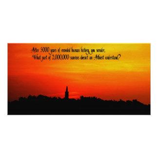 A  Beautiful sunrise Photo Greeting Card