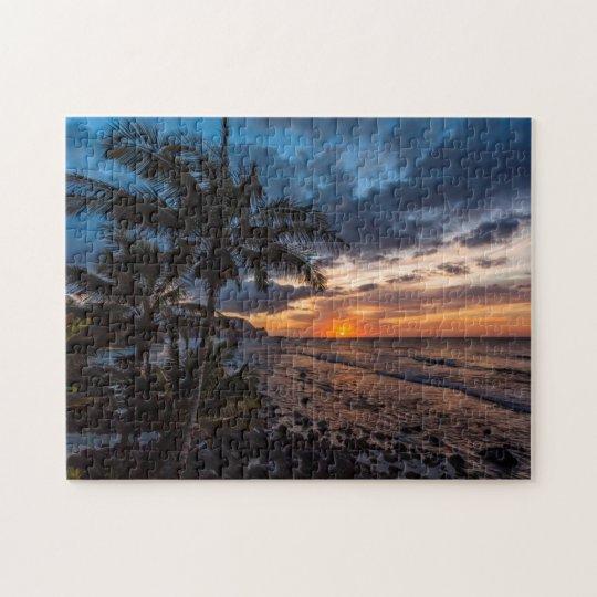A beautiful sunset jigsaw puzzle