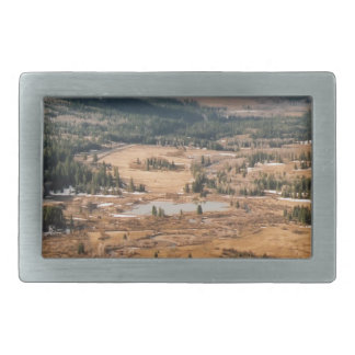 A Beautiful Valley Belt Buckle