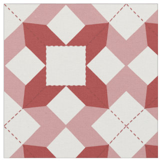 A Beauty Patchwork Design In Brown Fabric