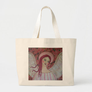 A Bed of Roses Jumbo Tote