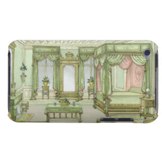 A Bedroom interior in Henri II style (colour litho iPod Case-Mate Case
