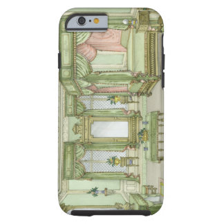A Bedroom interior in Henri II style (colour litho Tough iPhone 6 Case