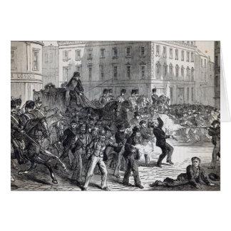 A Belfast Riot Card